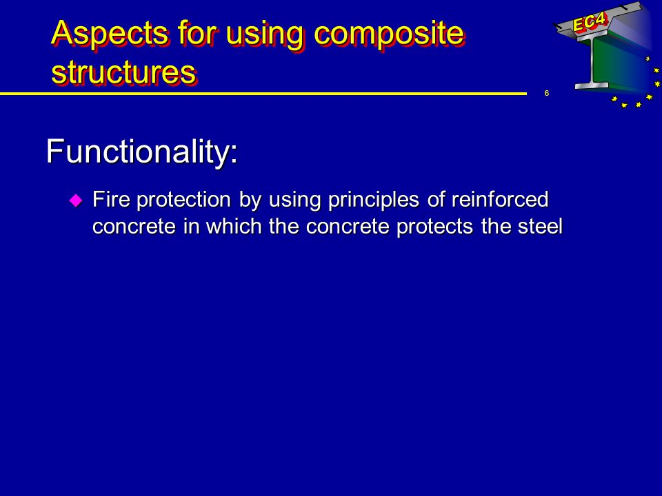 Aspects for using composite structures