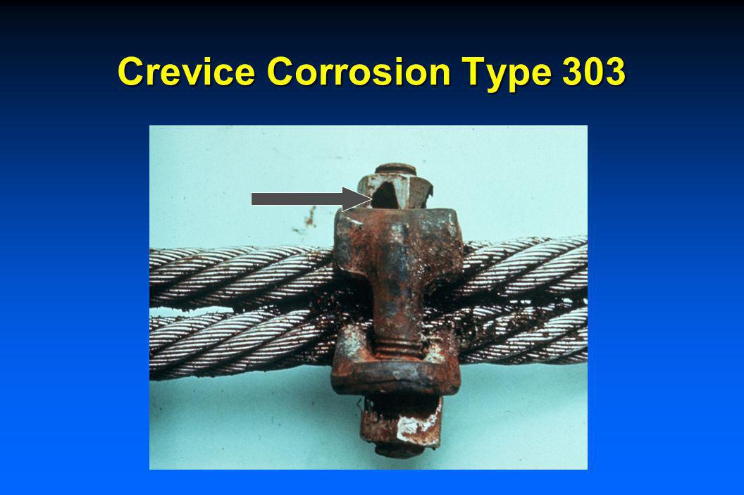 Stainless Steels Localized Corrosion Resistance