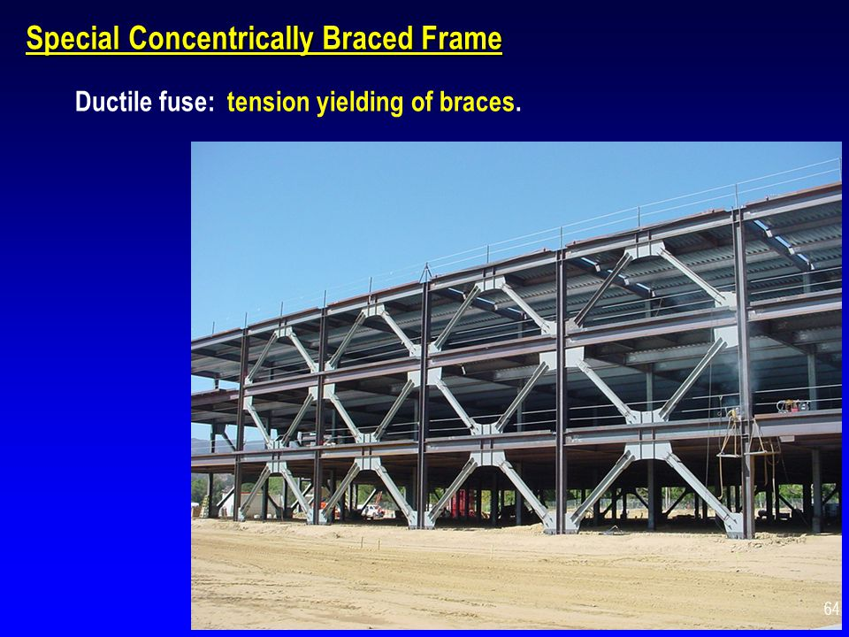 Special Concentrically Braced Frame