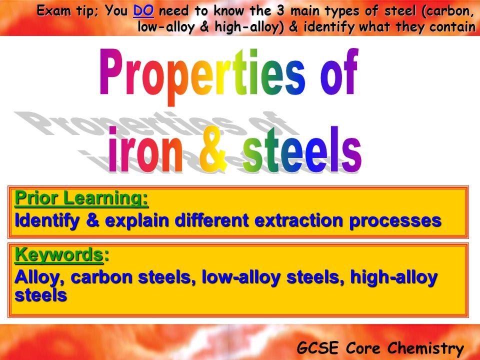 Keywords: Alloy, carbon steels, low-alloy steels, high-alloy steels