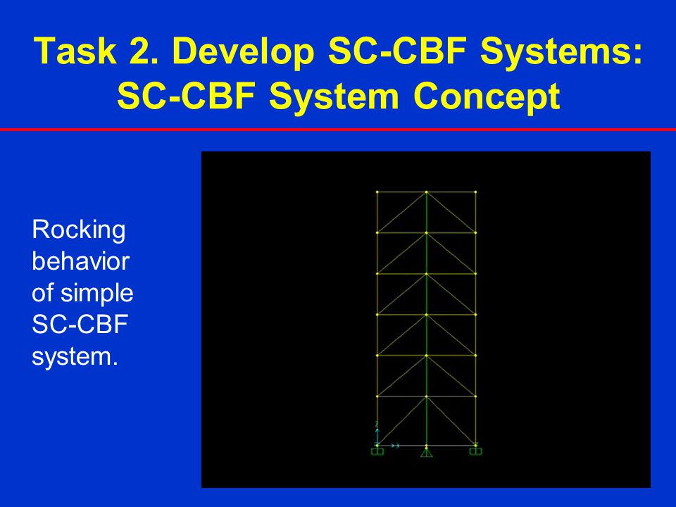 Task 2. Develop SC-CBF Systems: SC-CBF System Concept