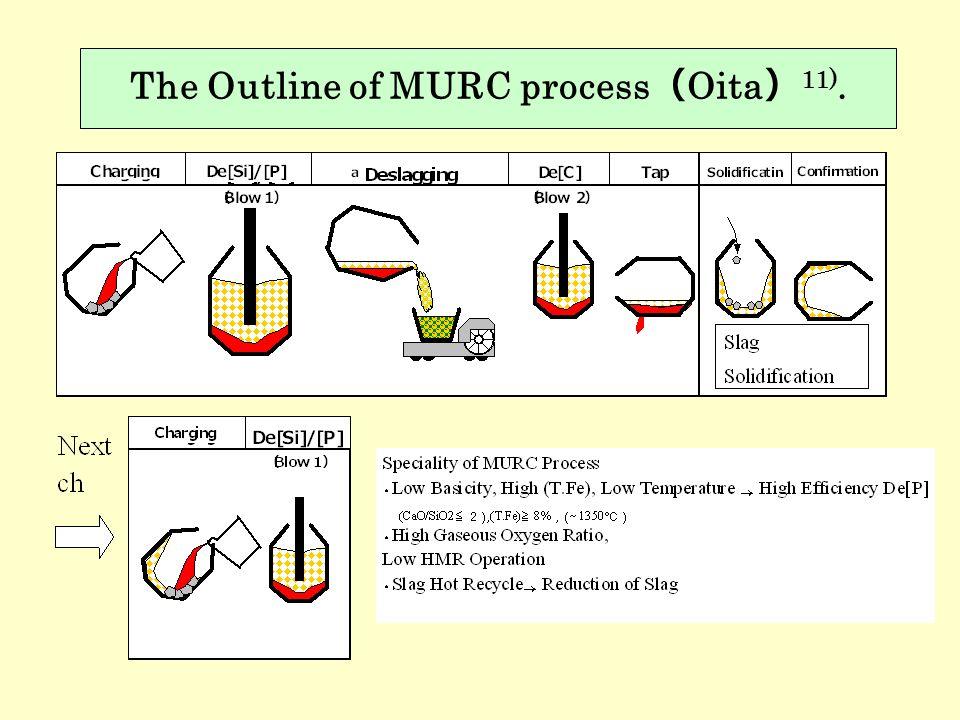 The Outline of MURC process(Oita)11).
