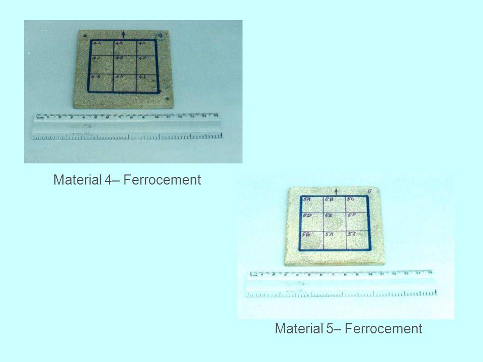 Material 4– Ferrocement
