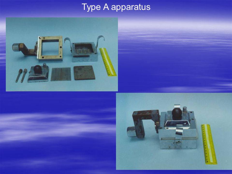 Type A apparatus