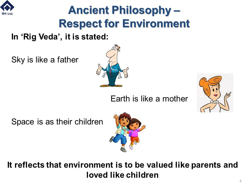 Ancient Philosophy – Respect for Environment