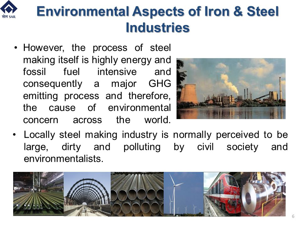Environmental Aspects of Iron & Steel Industries