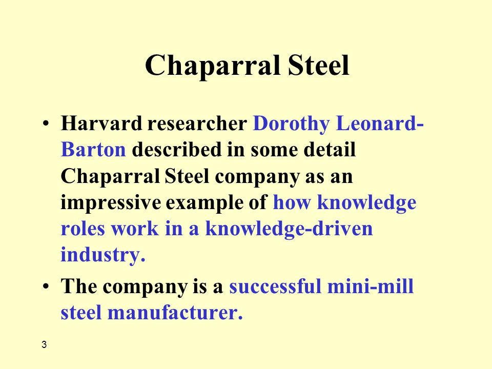 Chaparral Steel