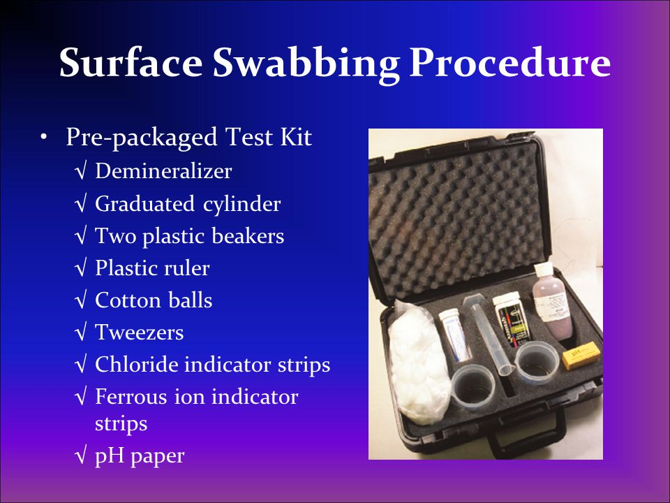 Surface Swabbing Procedure