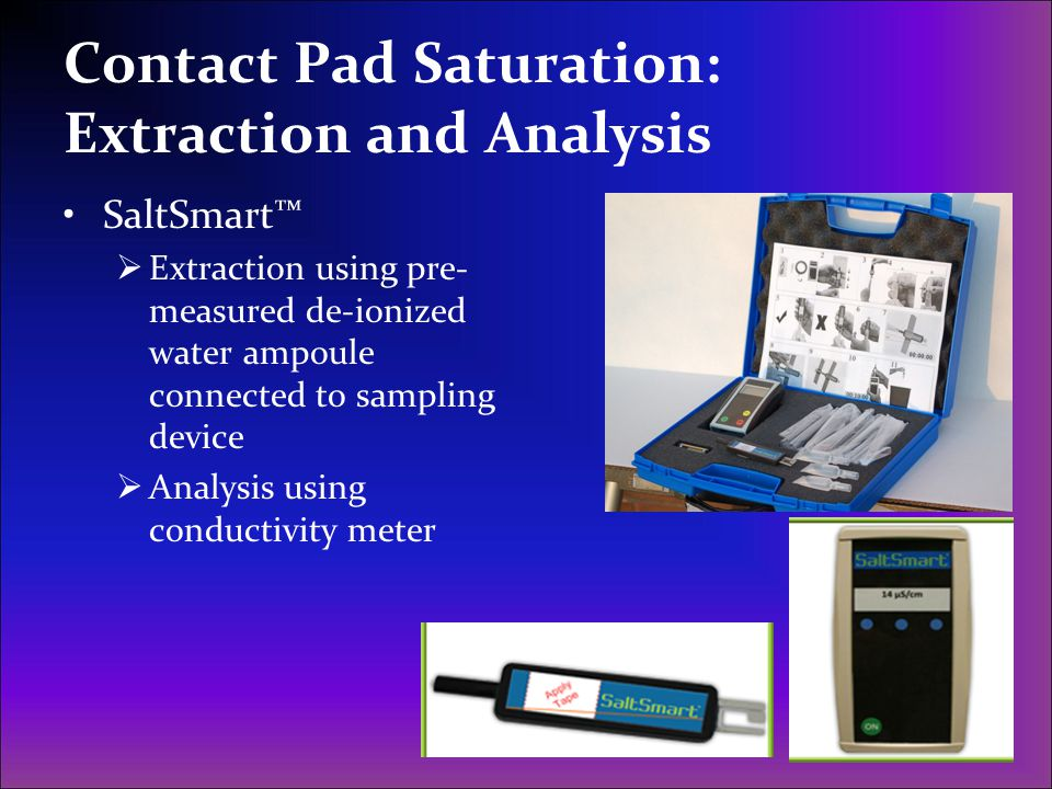 Contact Pad Saturation: Extraction and Analysis