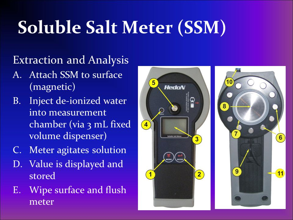 Soluble Salt Meter (SSM)