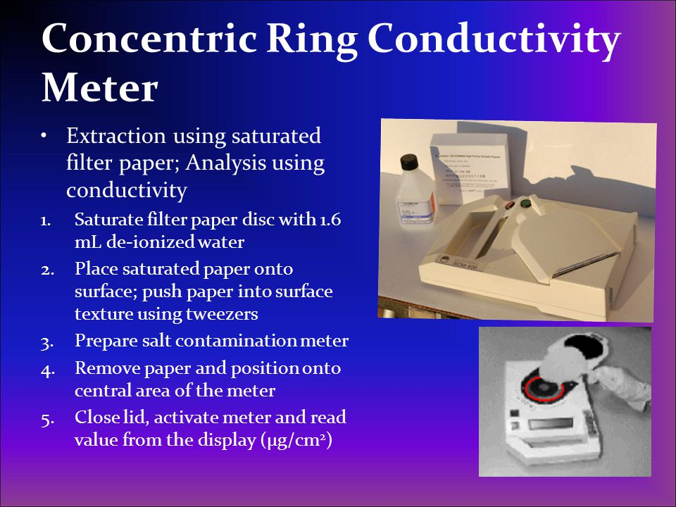 Concentric Ring Conductivity Meter