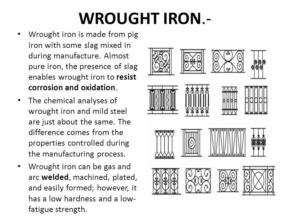 WROUGHT IRON.-