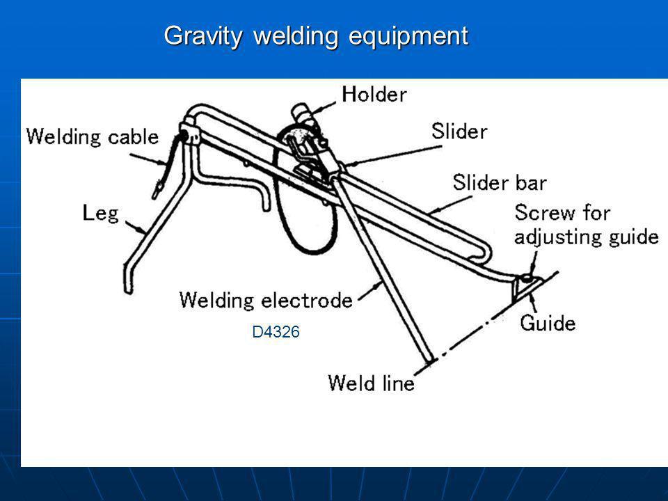Gravity welding equipment