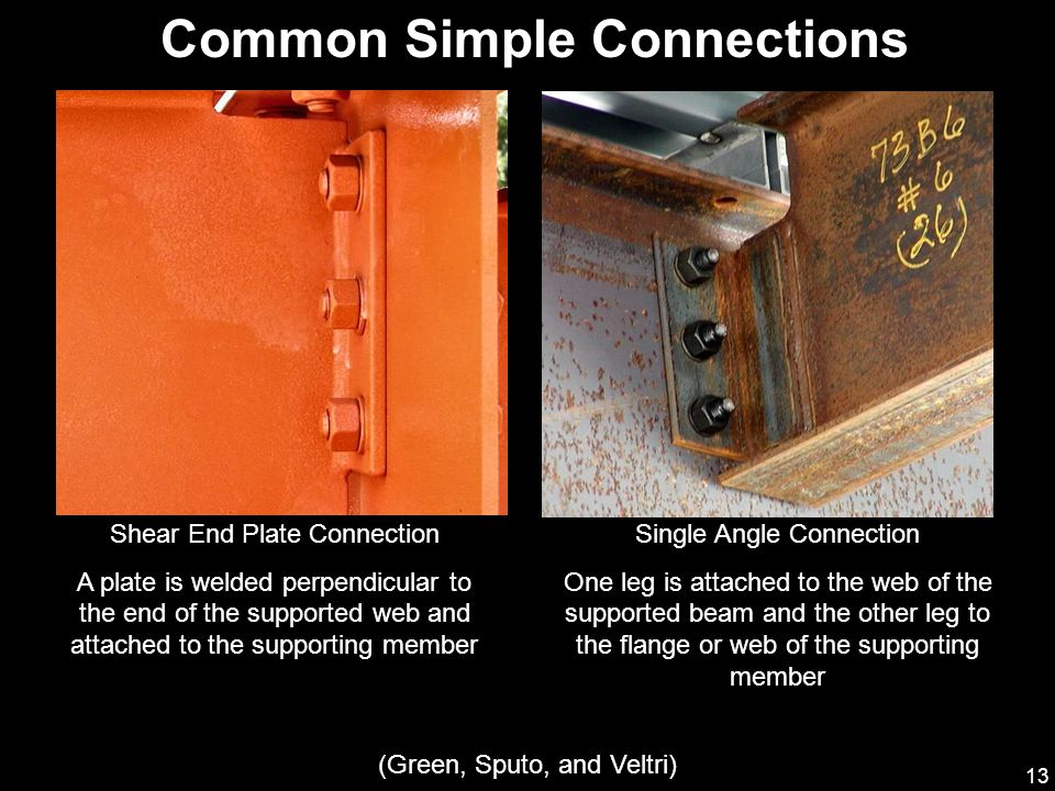 Common Simple Connections