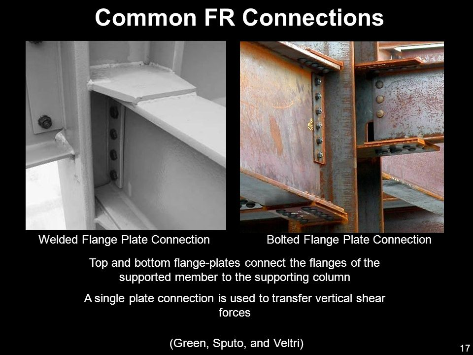 Common FR Connections Welded Flange Plate Connection