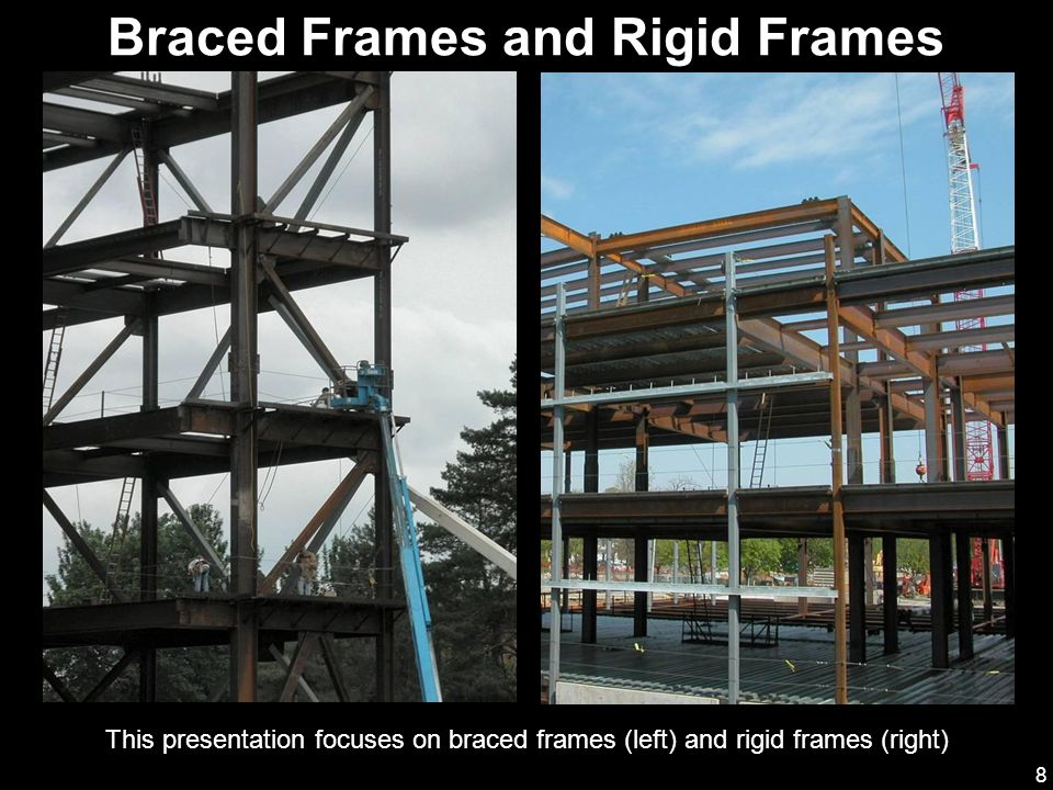 Braced Frames and Rigid Frames