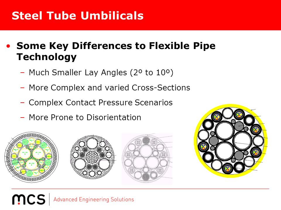 Steel Tube Umbilicals Some Key Differences to Flexible Pipe Technology