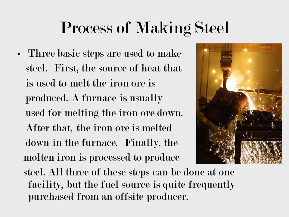 Process of Making Steel