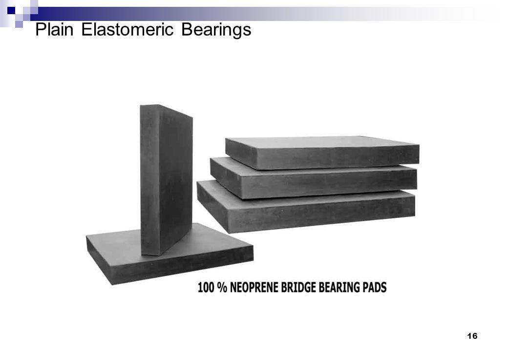 Plain Elastomeric Bearings