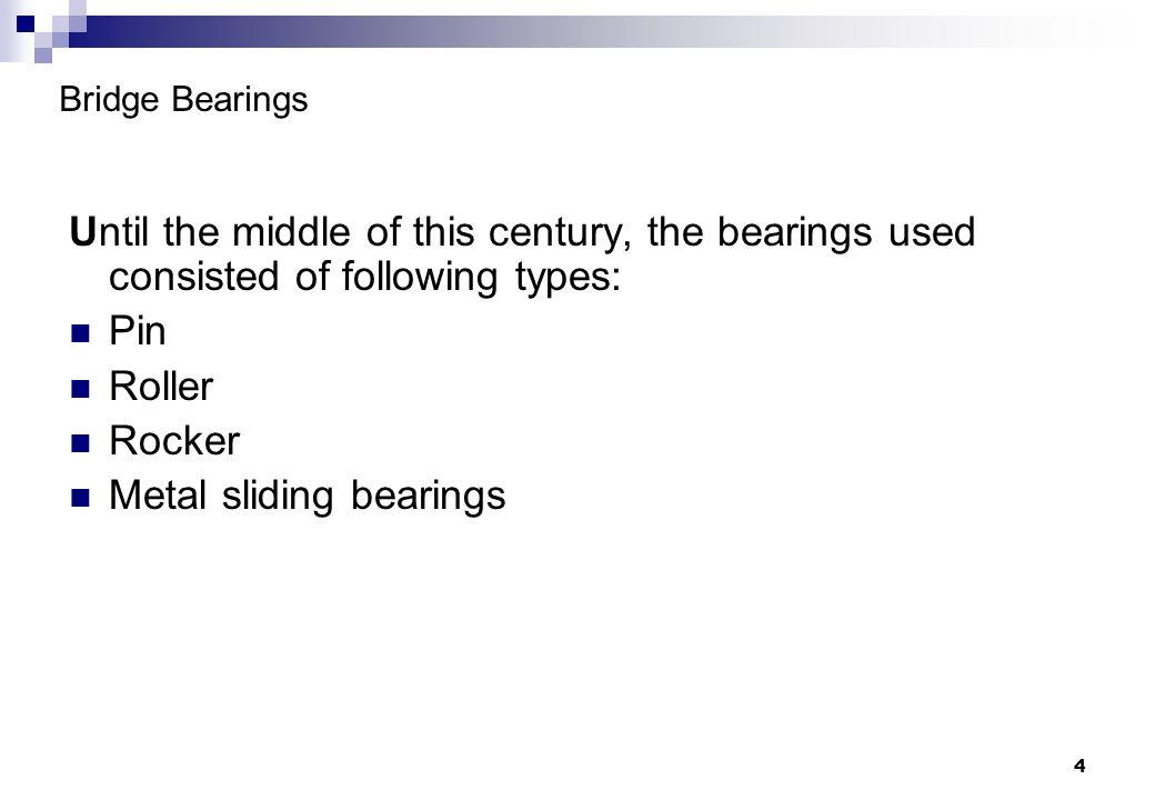 Metal sliding bearings