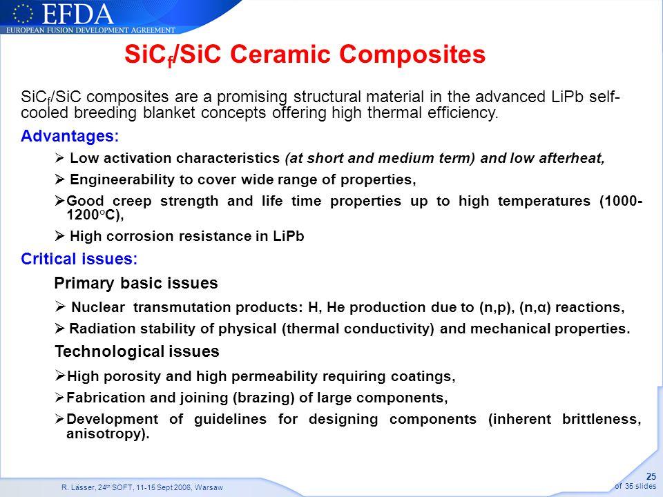 SiCf/SiC Ceramic Composites
