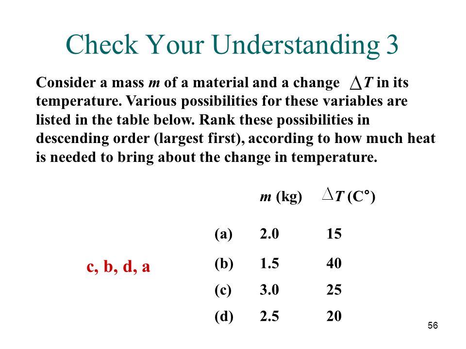 Check Your Understanding 3