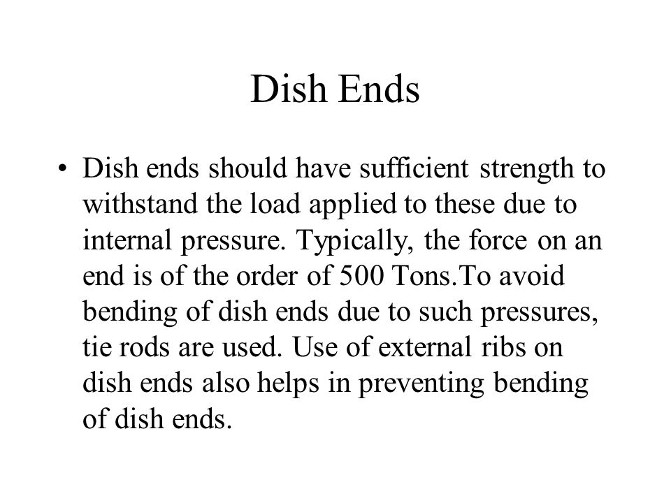 Dish Ends