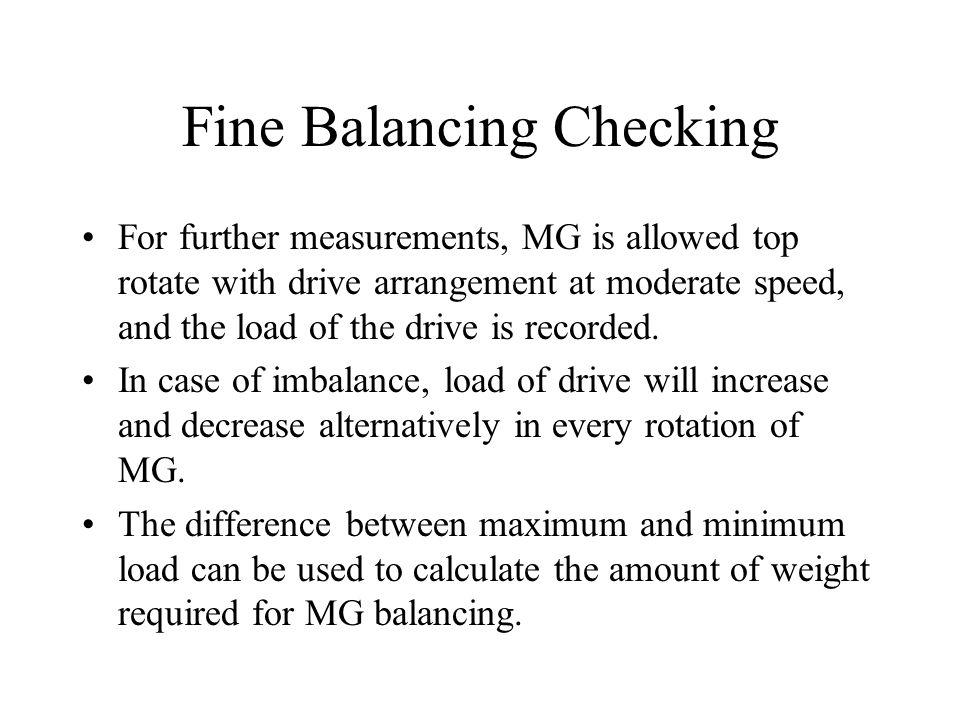 Fine Balancing Checking