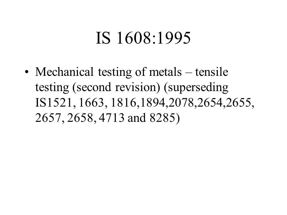 IS 1608:1995