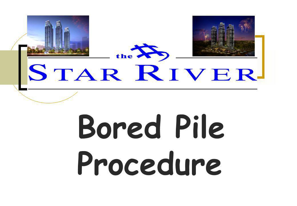 Bored Pile Procedure