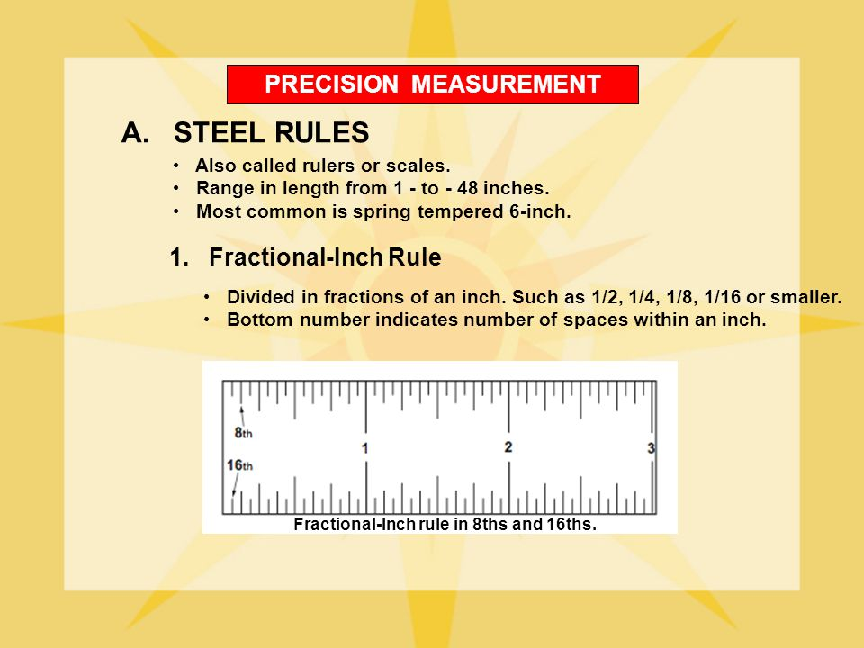 PRECISION MEASUREMENT