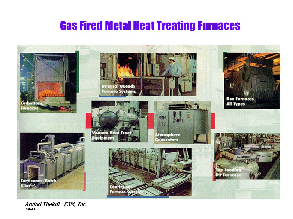 Gas Fired Metal Heat Treating Furnaces