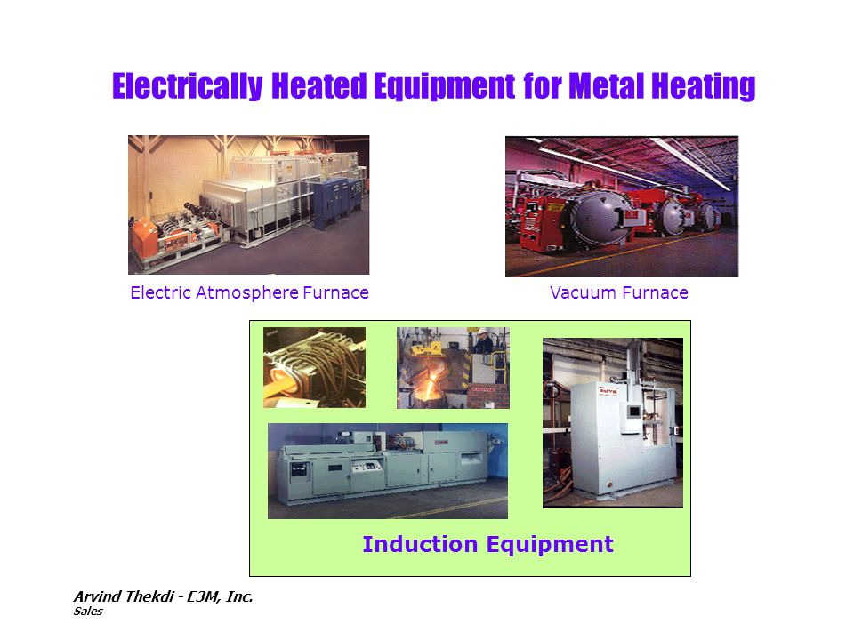 Electrically Heated Equipment for Metal Heating