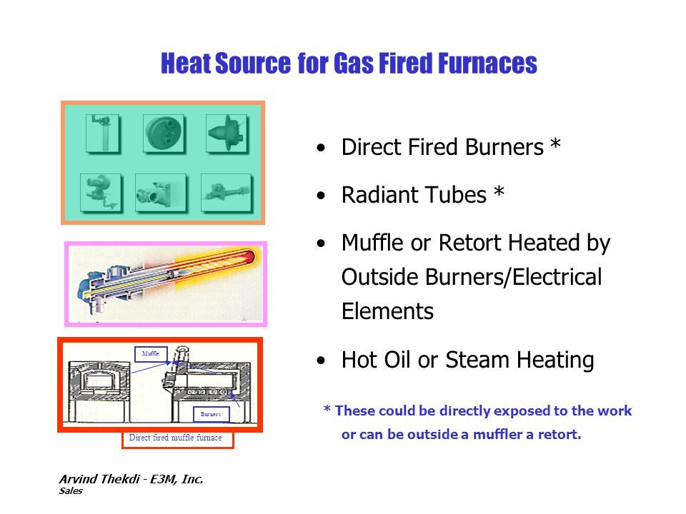 Heat Source for Gas Fired Furnaces
