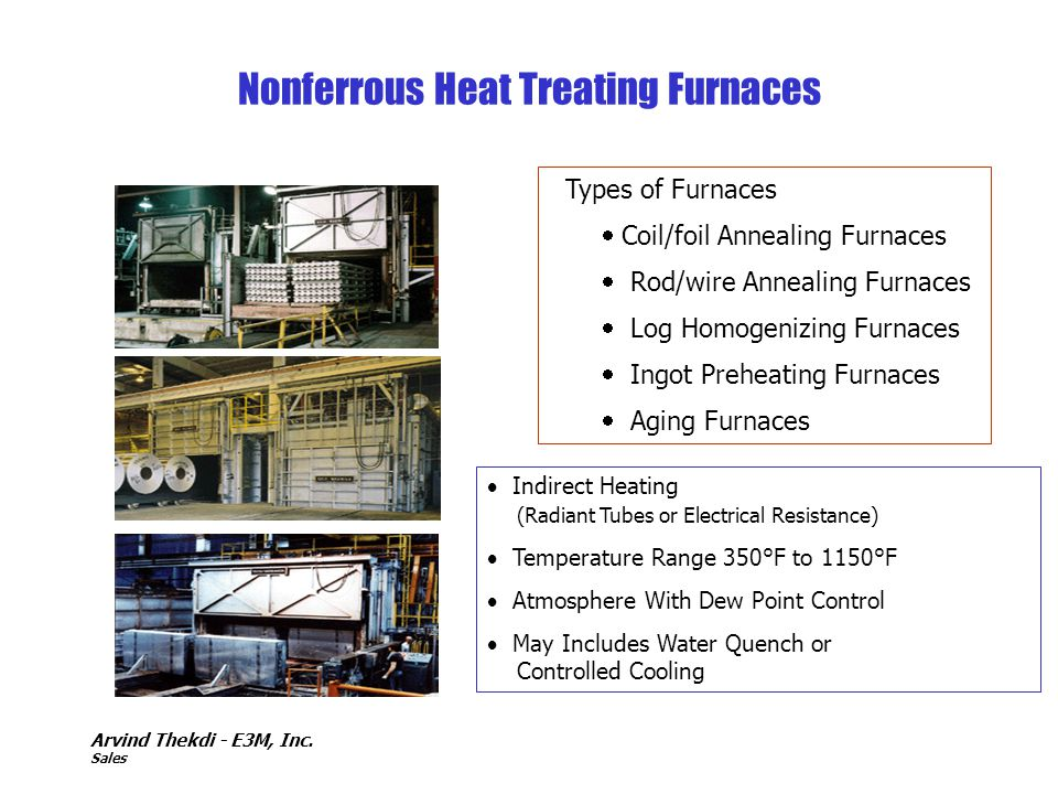 Nonferrous Heat Treating Furnaces