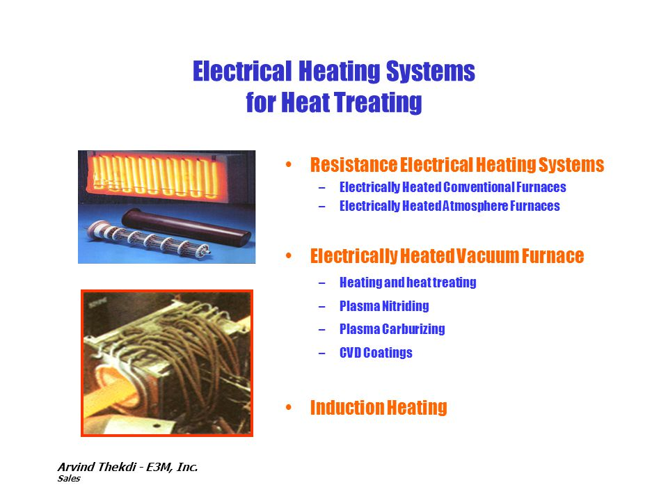 Electrical Heating Systems for Heat Treating