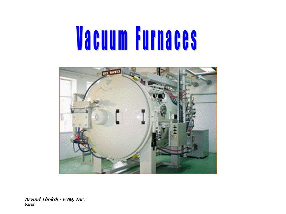 Vacuum Furnaces Arvind Thekdi - E3M, Inc. Sales
