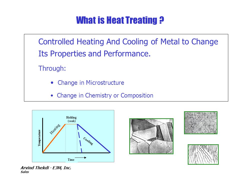 What is Heat Treating Controlled Heating And Cooling of Metal to Change Its Properties and Performance.