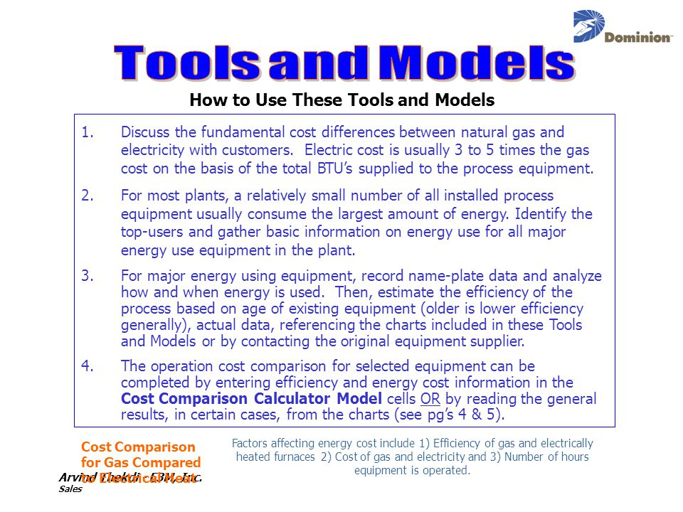 How to Use These Tools and Models