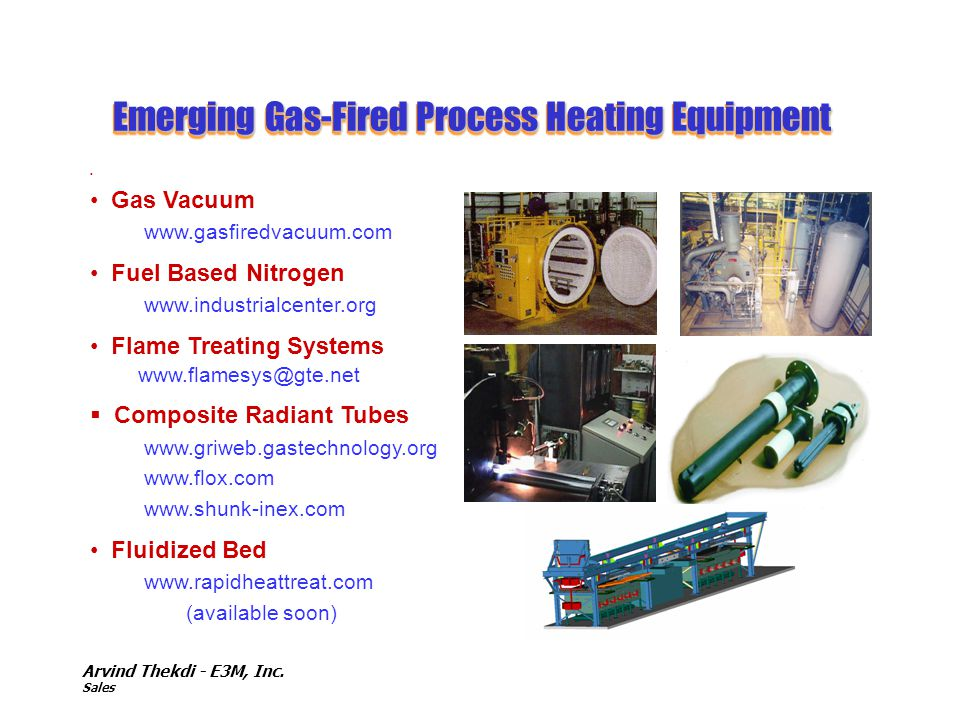 Emerging Gas-Fired Process Heating Equipment