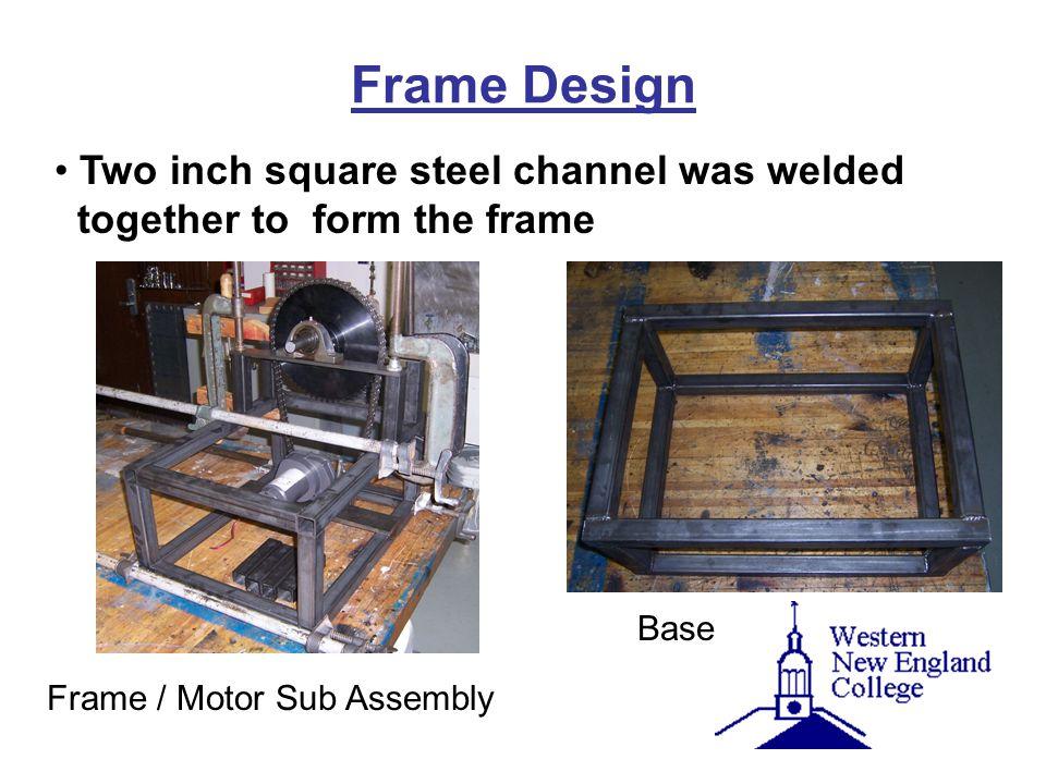 Frame / Motor Sub Assembly