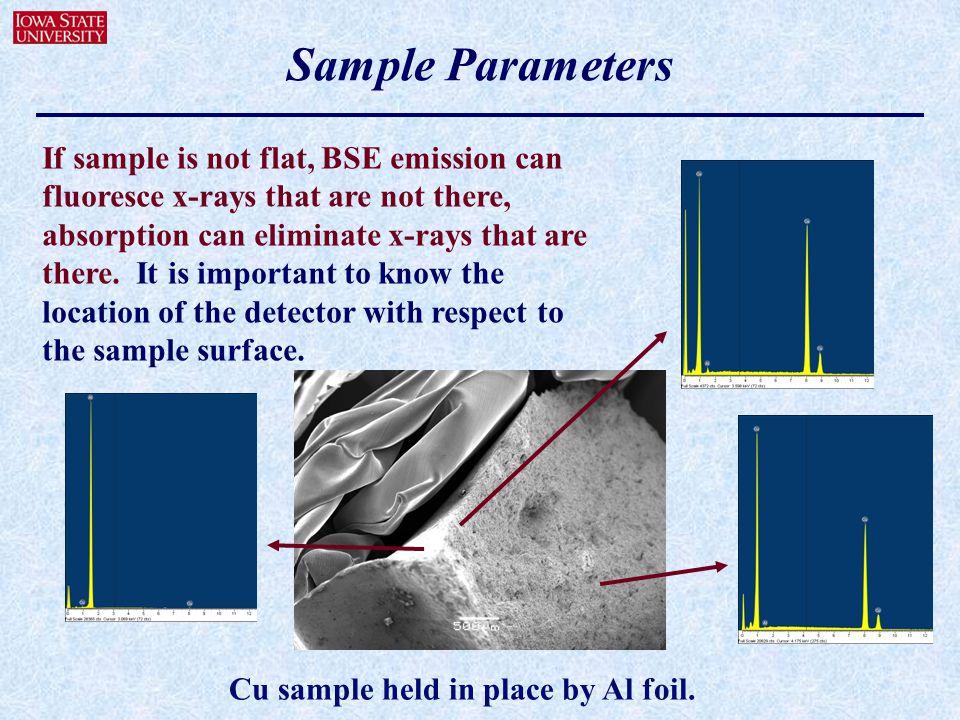 Sample Parameters