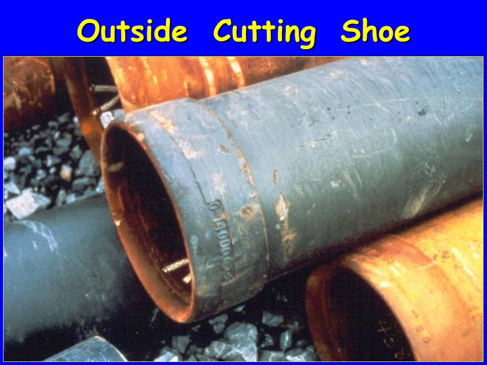 Outside Cutting Shoe