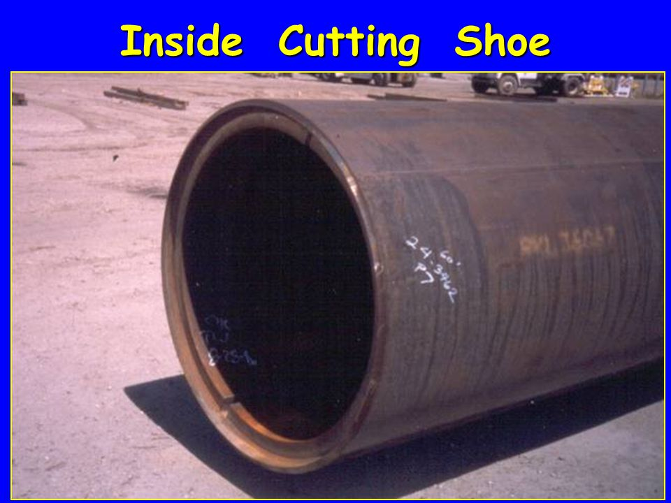 Inside Cutting Shoe