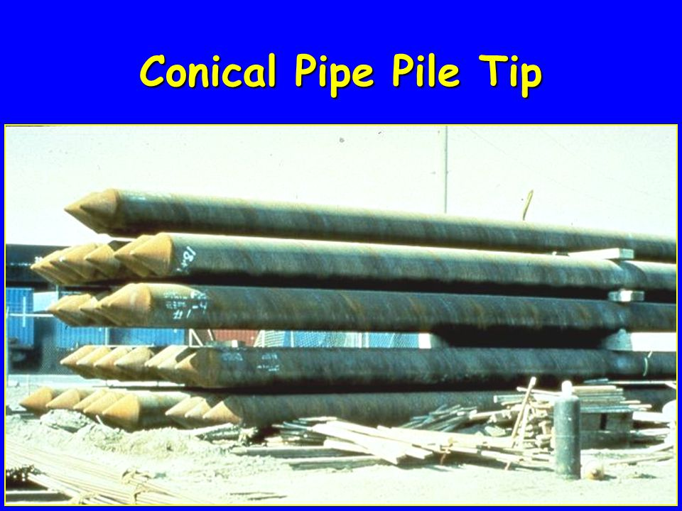 Conical Pipe Pile Tip