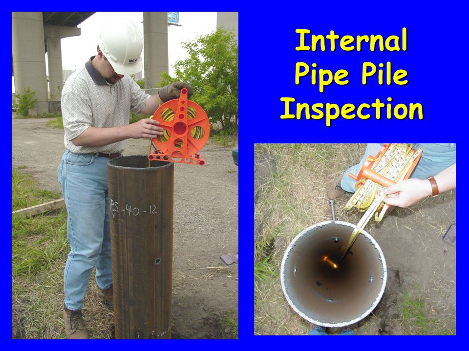 Internal Pipe Pile Inspection