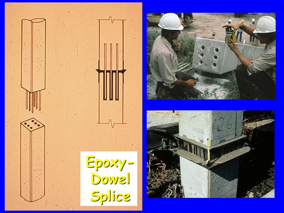 Epoxy-Dowel Splice