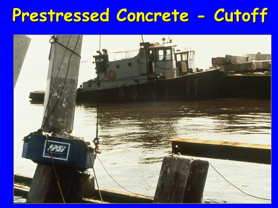 Prestressed Concrete - Cutoff