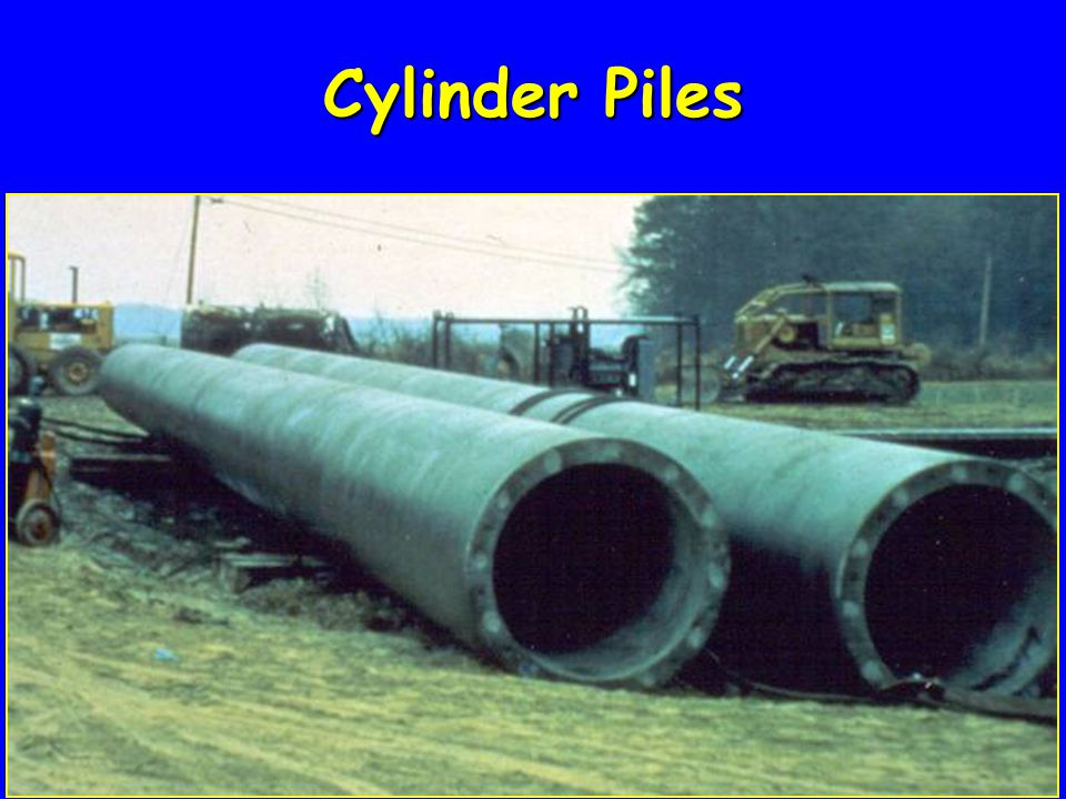 Cylinder Piles