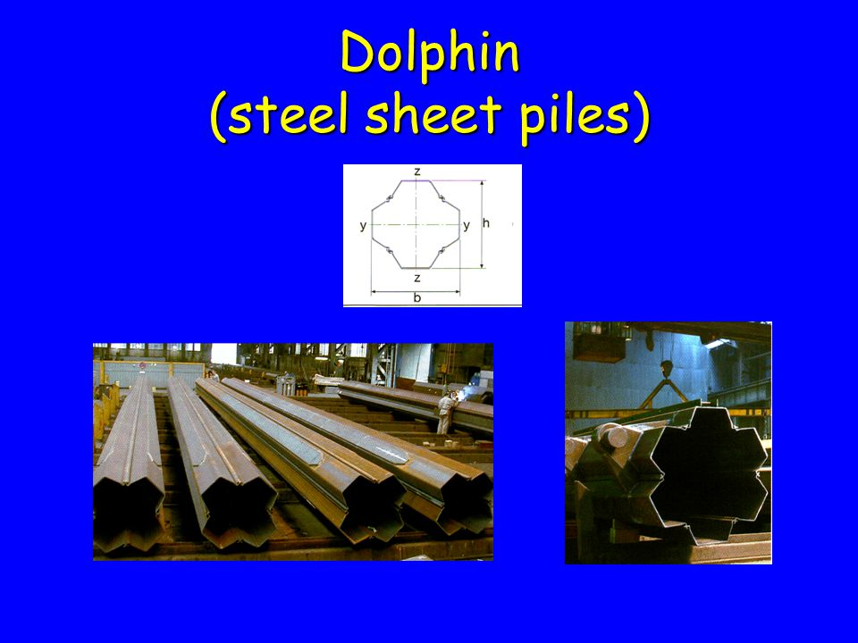 Dolphin (steel sheet piles)